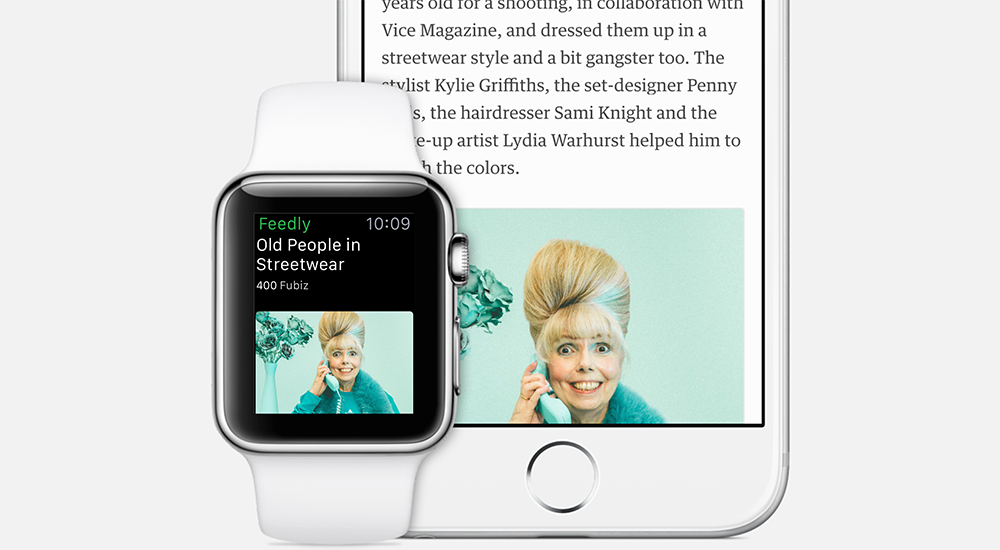 Feedly para Apple Watch teaser 001