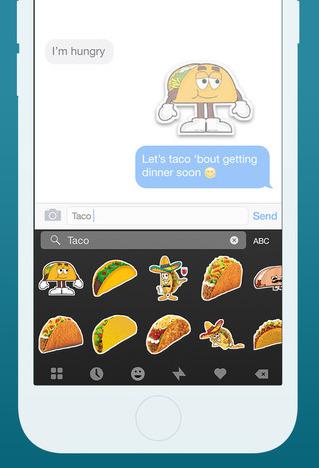 Fleksy Keyboard 5.7 for iOS Stickers iPhone screenshot 001