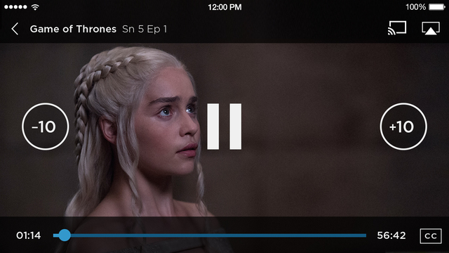 HBO GO 3.0.1 for iOS iPhone screenshot 001