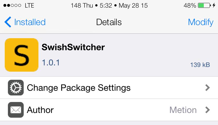 SwishSwitcherCydiaScreenshot