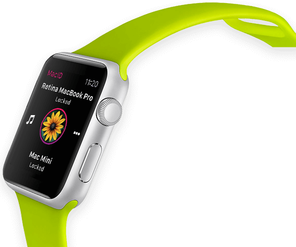 MacID para Apple Watch teaser 001