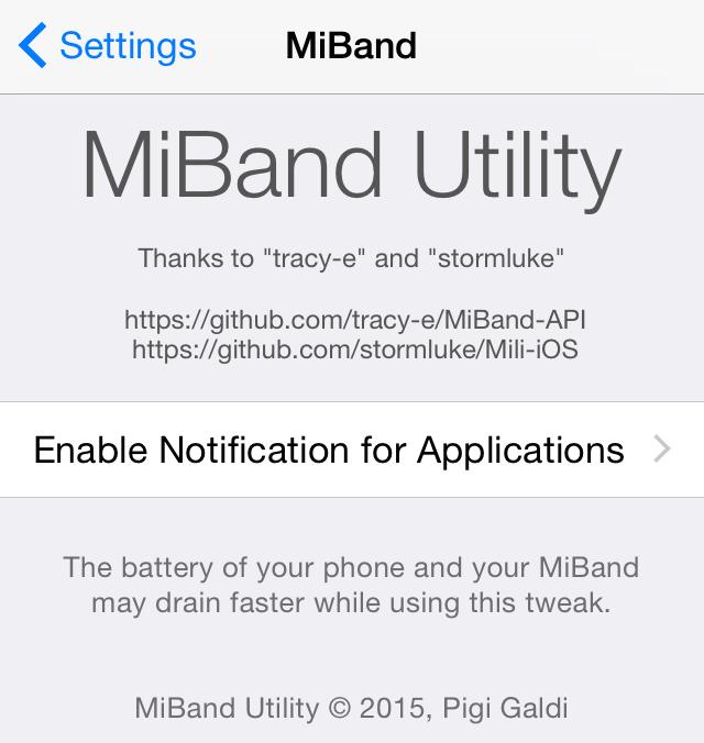 New tweak brings iOS notifications to Xiaomi's Mi Band