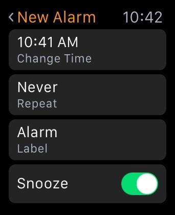 New Alarm Apple Watch 2