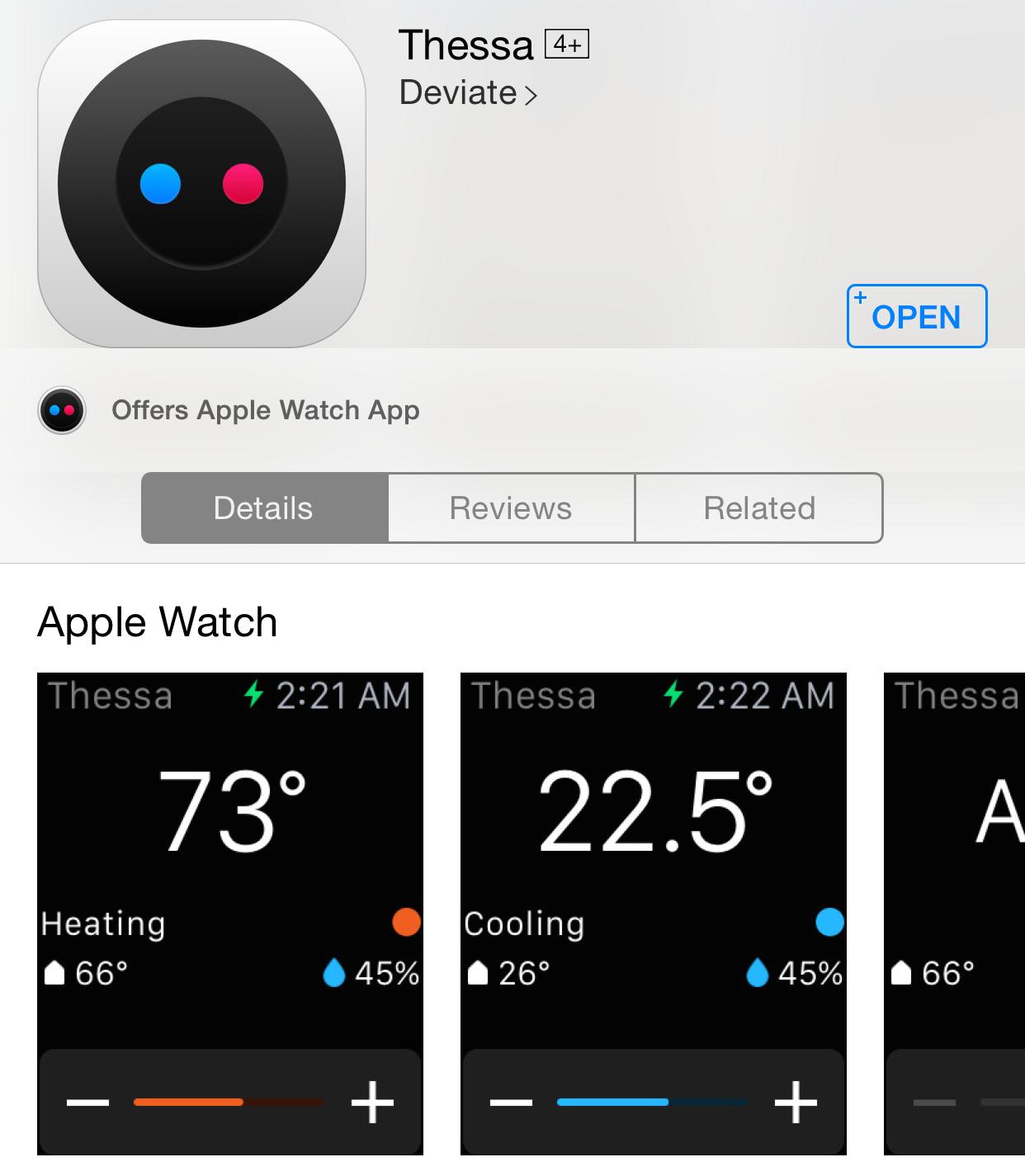 Offers Apple Watch App