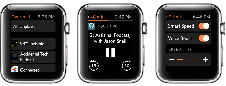 Overcast-Apple-Watch