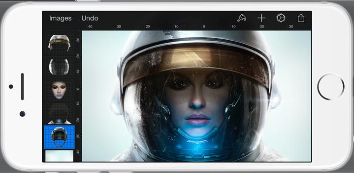 Pixelmator 2.0 for iOS iPhone screenshot 001
