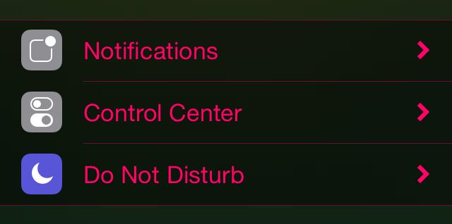 QuartzSettings Settings app