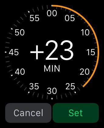 Set Clock Ahead Apple Watch 2