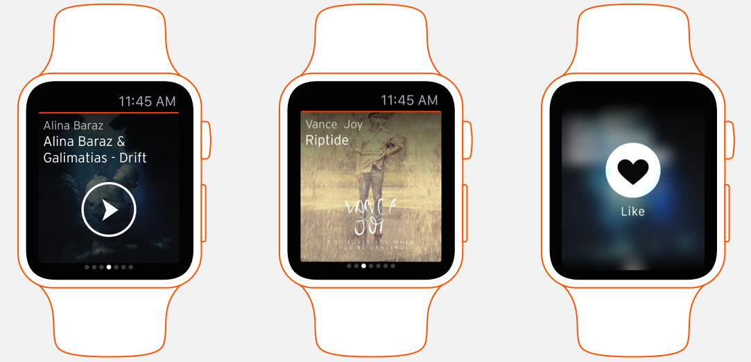 SoundCloud for Apple Watch teaser 001
