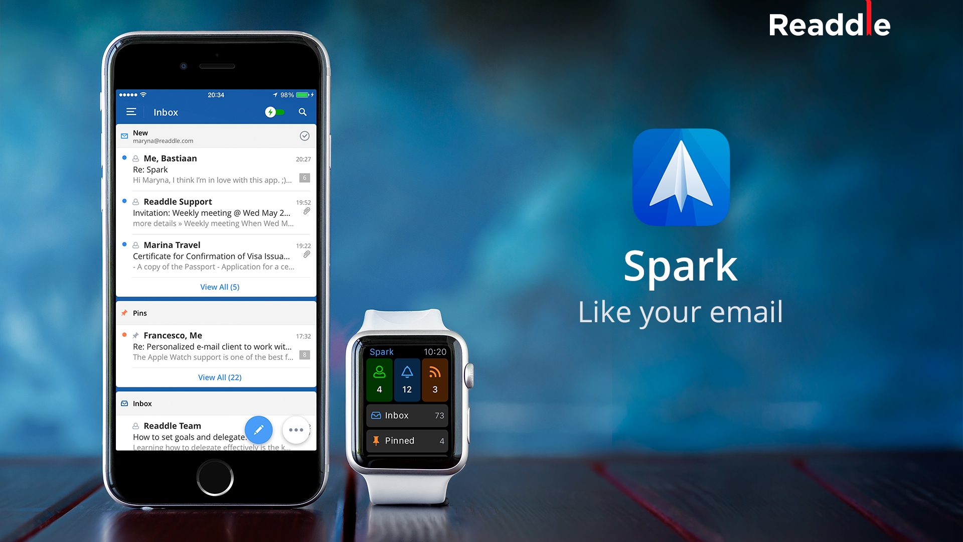 Spark by Readdle 1.0 for iOS teaser 001