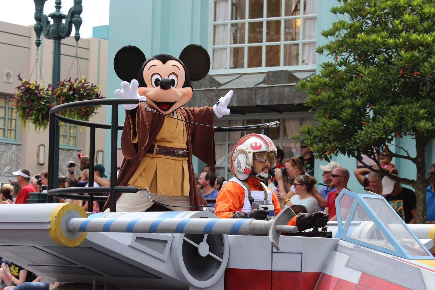Star Wars Day Disney theme park