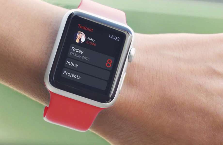 Todoist launches Apple Watch app with Inbox, Today view