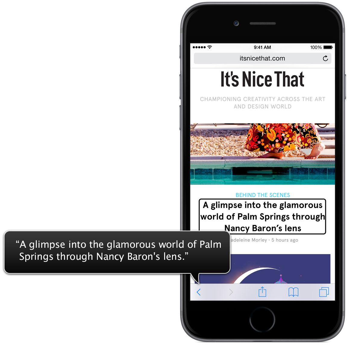 VoiceOver for iOS teaser 001