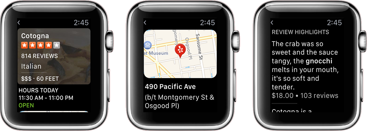 Yelp-Apple-Watch