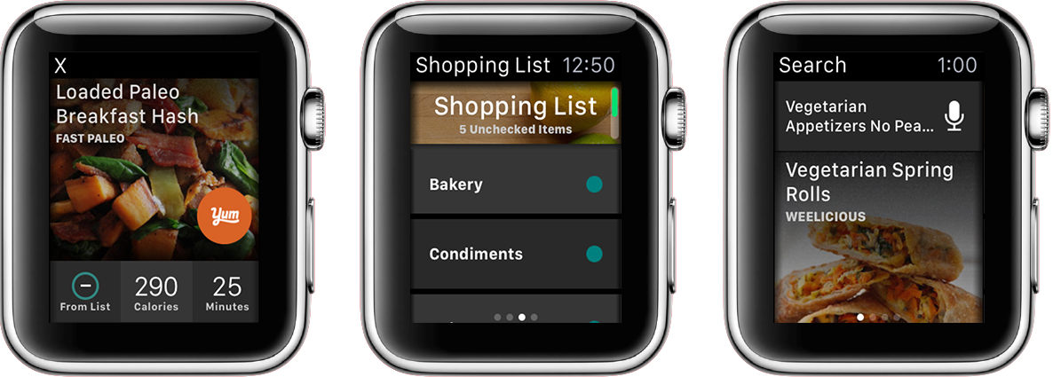 Yummly-Apple-Watch