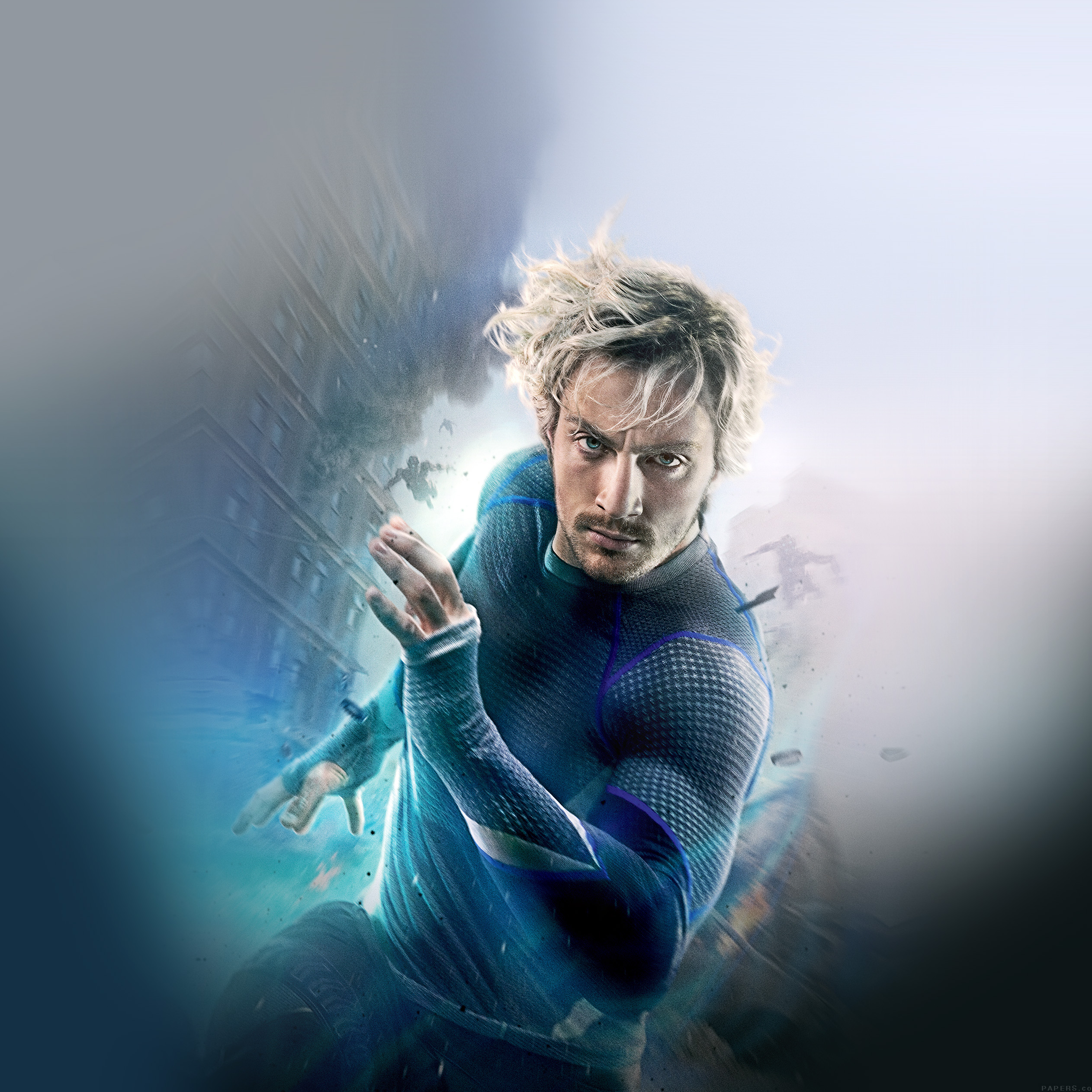 Avengers Age Of Ultron Aaron Taylor Johnson Quicksilver