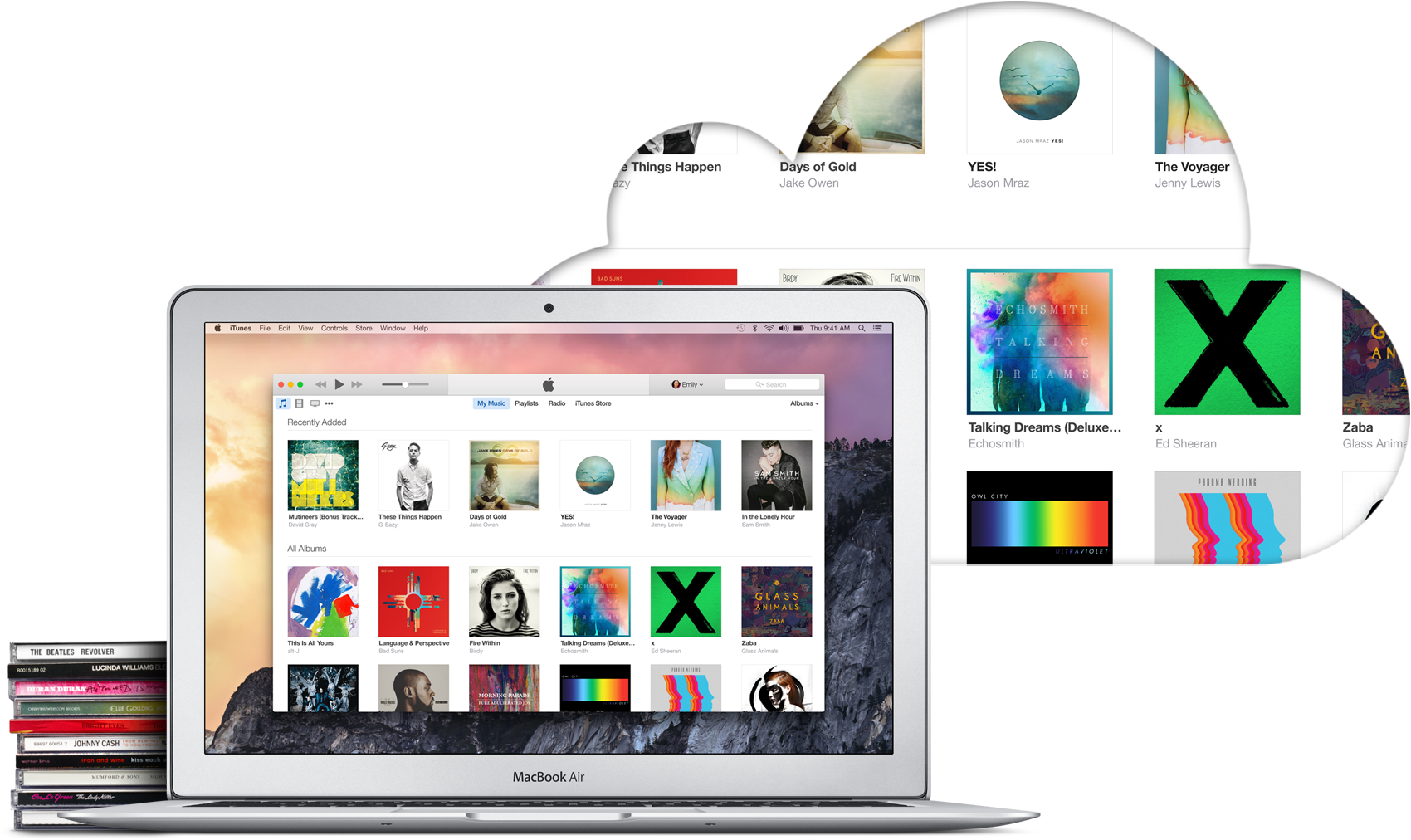 iTunes Match Mac CDs Cloud