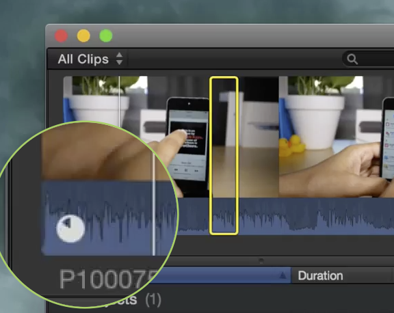 referencing media on the camera FCP X fixed