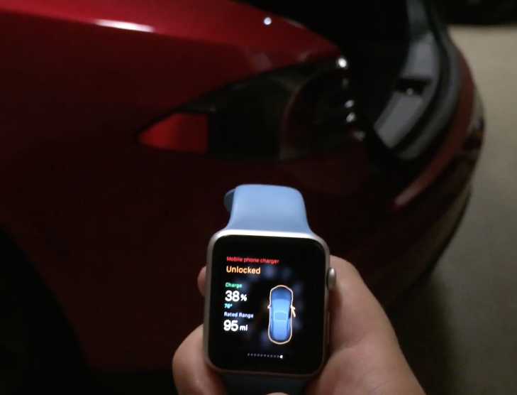 tesla watch