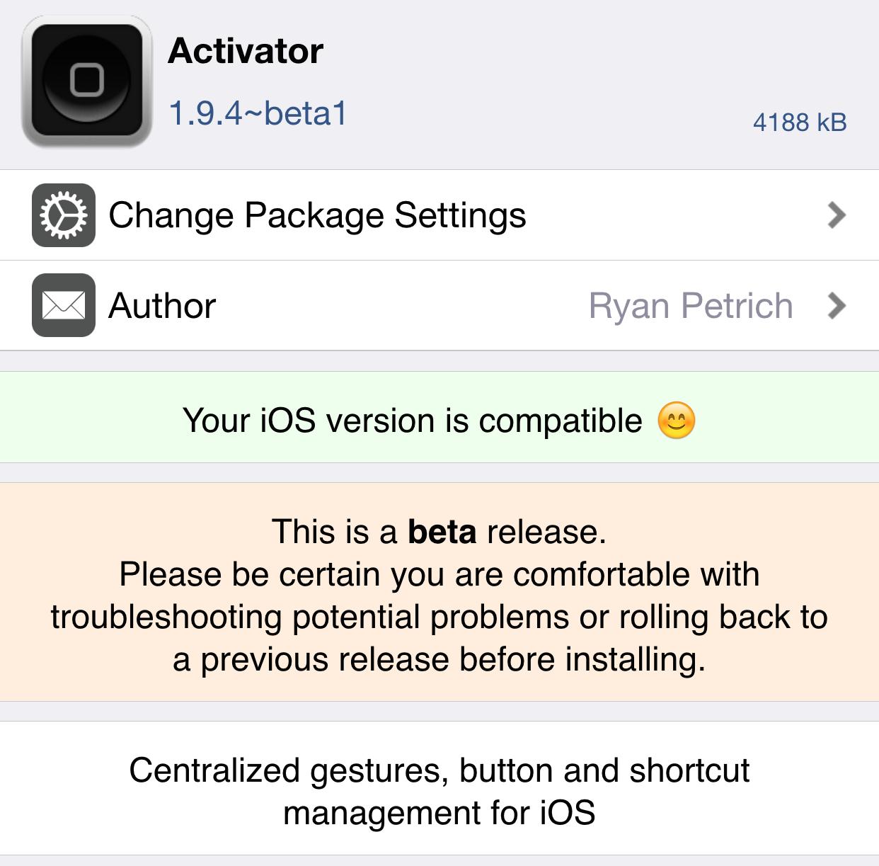 Activator beta 8.4