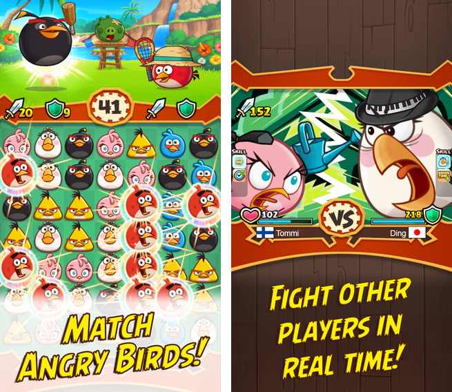 Angry Birds Fight 1.0 for iOS iPhone screenshot 001