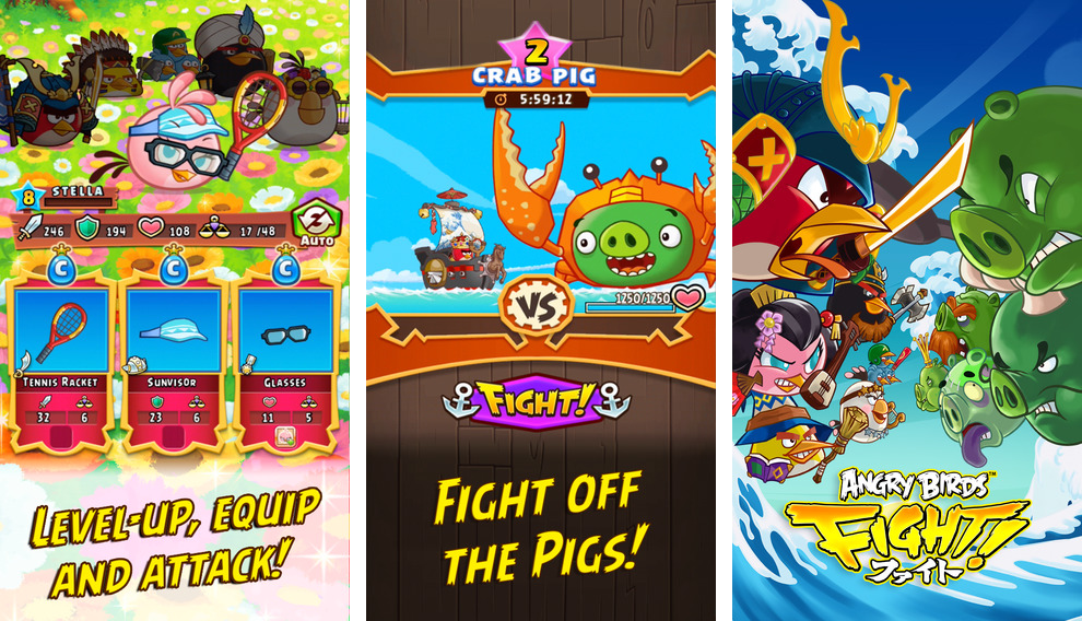 Angry Birds Fight 1.0 for iOS iPhone screenshot 002