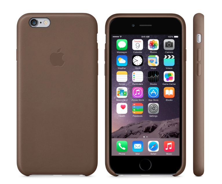 Apple Leather iPhone 6 Case