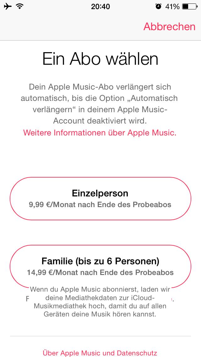 Apple Music European prices 001