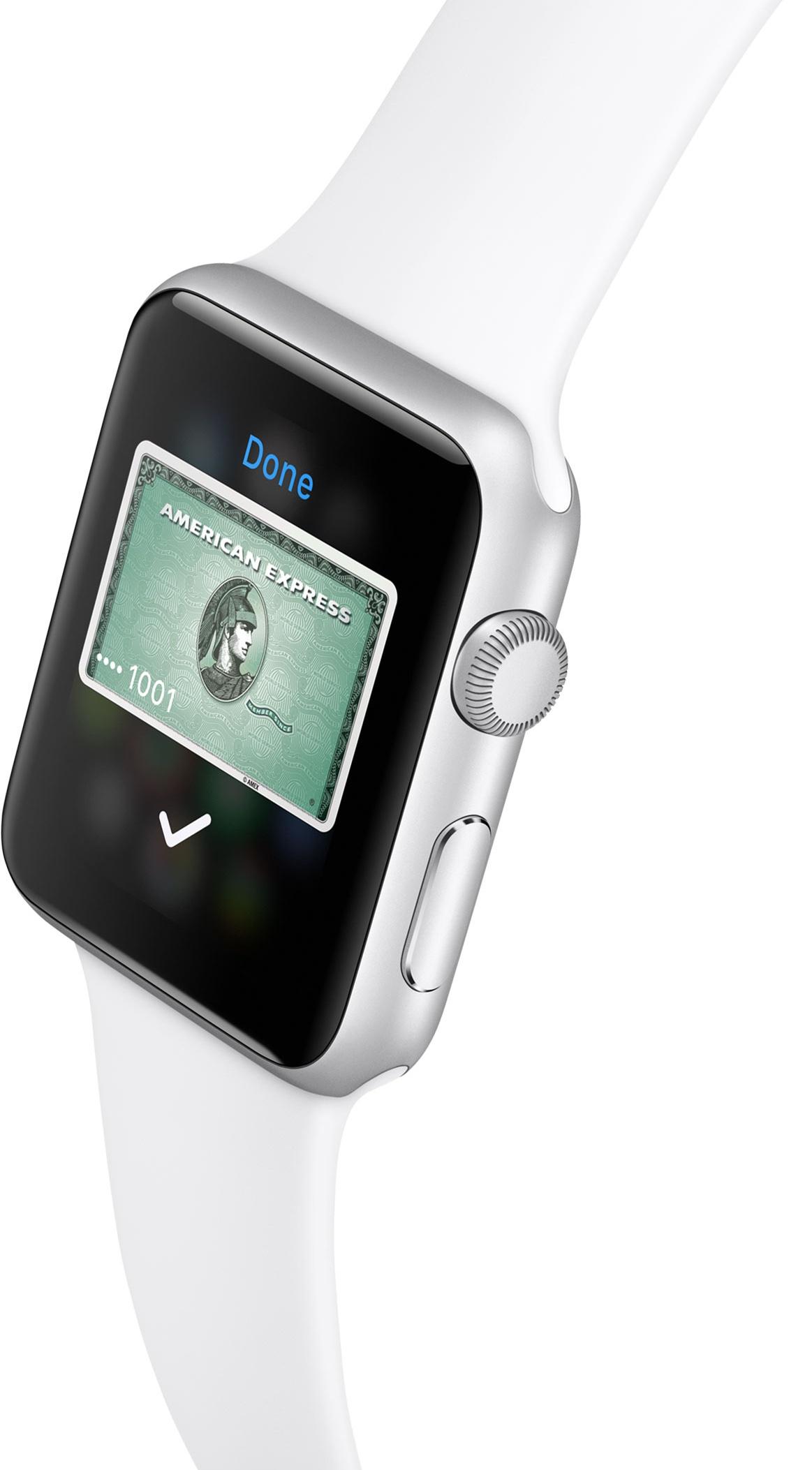 Apple Pay en el adelanto 006 de Apple Watch