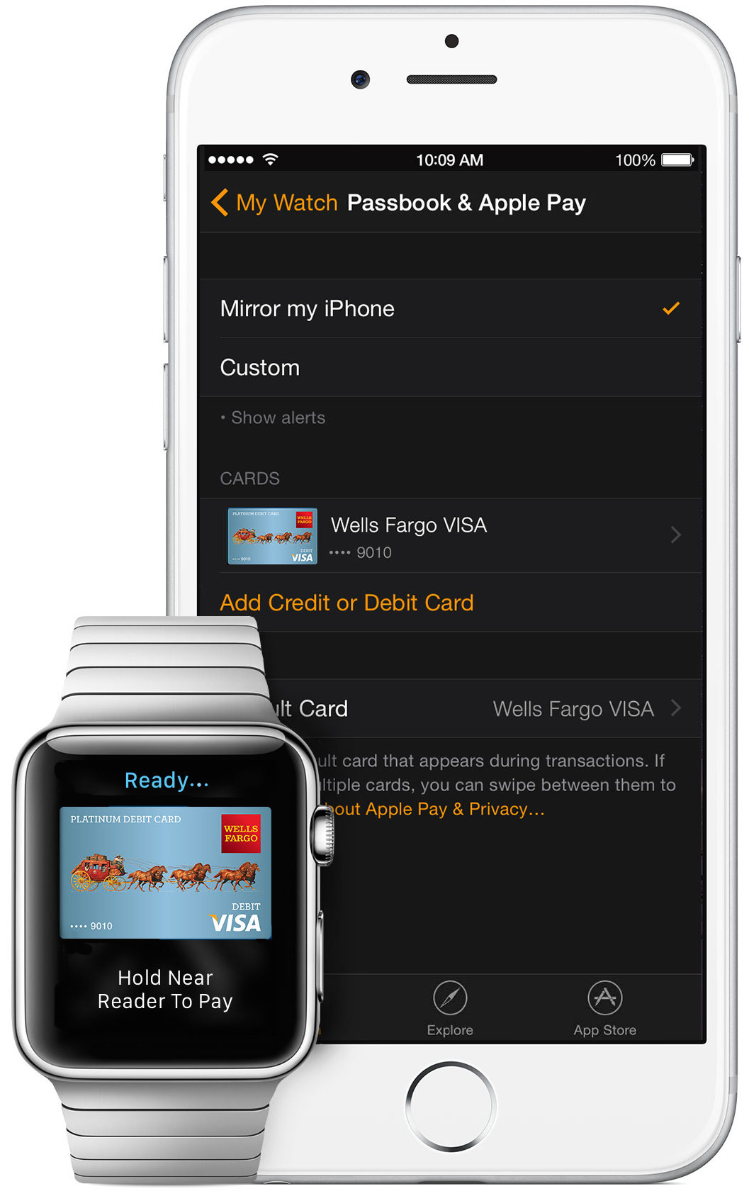 Apple Pay on Apple Watch teaser