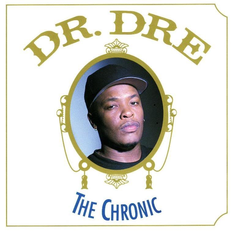 Dr Dre The Chronic album cover