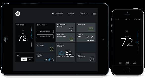 Ecobee3 HomeKit thermostat app image 001