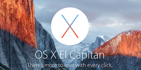 El Capitan Apple Splash