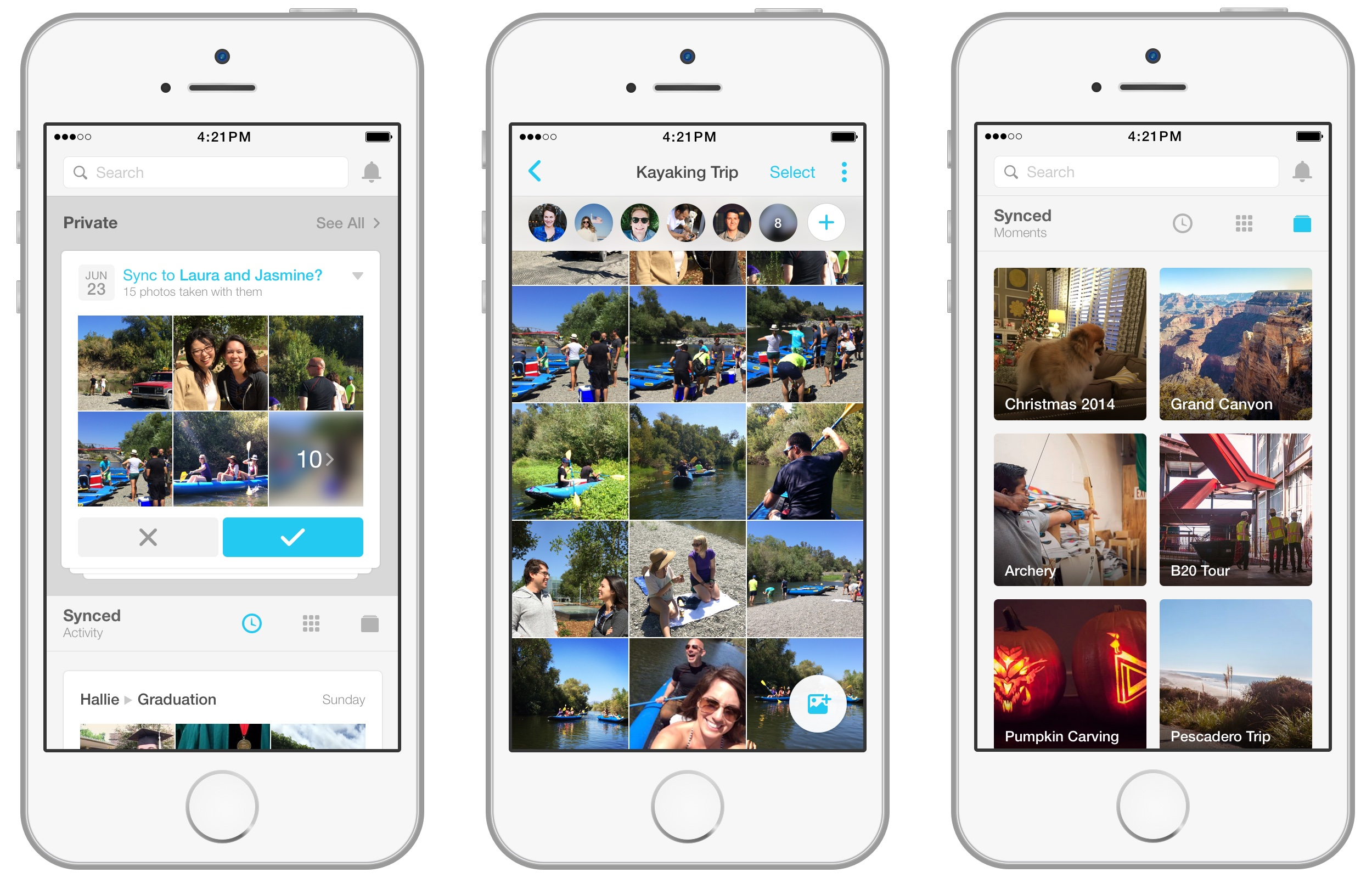 Facebook Moments 1.0 for iOS iPhone screenshot 002