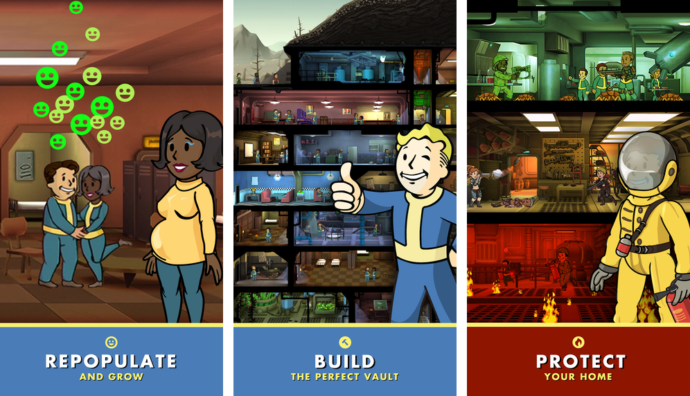 Fallout Shelter 1.0 for iOS iPhone screenshot 001