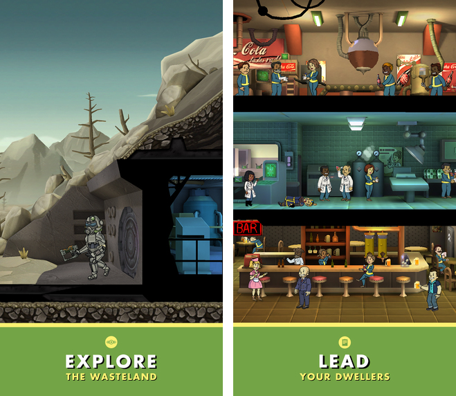 Fallout Shelter 1.0 for iOS iPhone screenshot 002