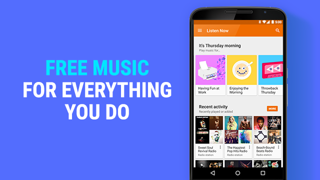 Google Play Music free radio station teaser 001