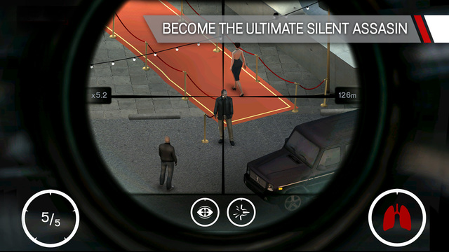 Hitman Sniper 1.0 for iOS iPhone screenshot 001