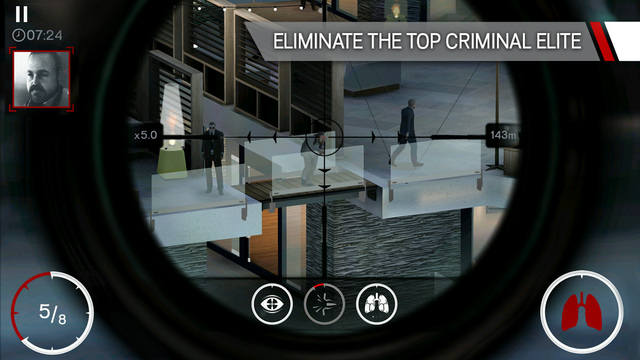 Hitman Sniper 1.0 for iOS iPhone screenshot 002