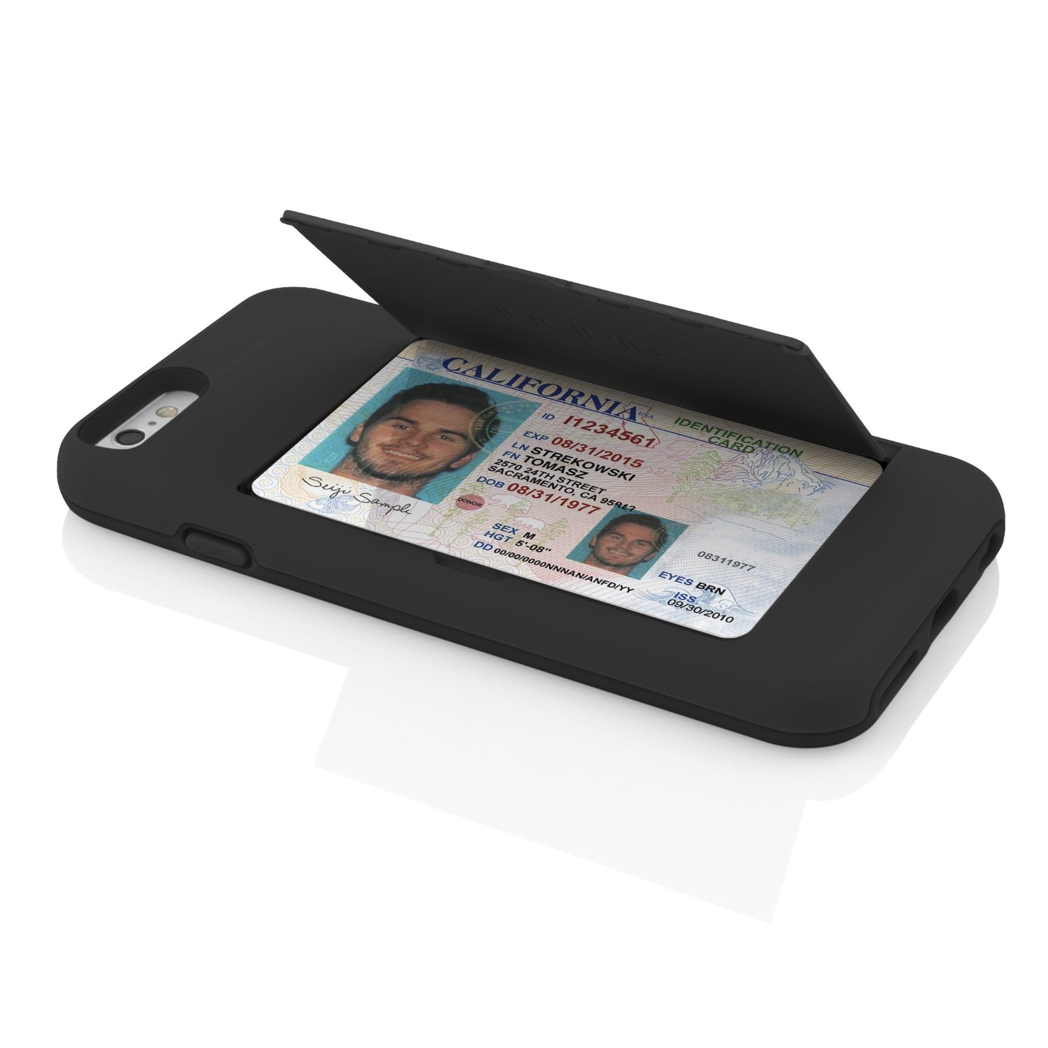 online store 6c473 d9051 Hide your credit cards inside the Stowaway iPhone 6 case