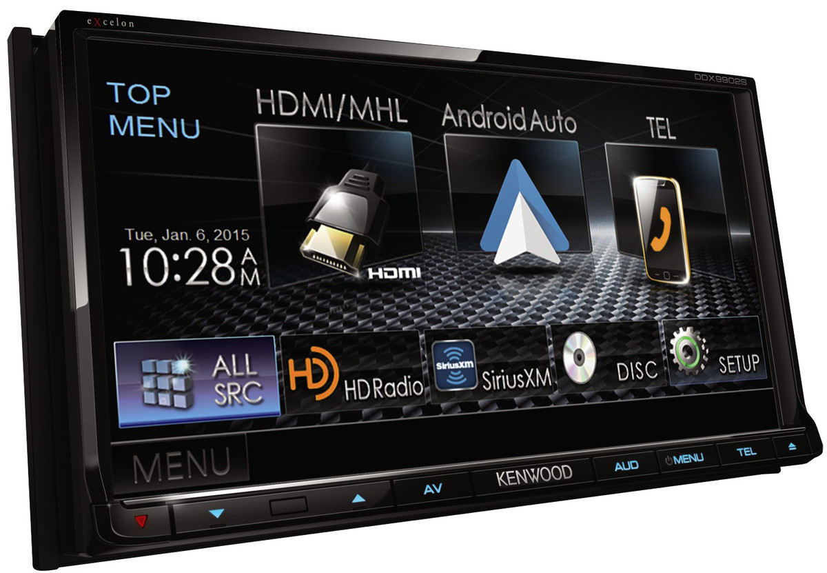 Kenwood DDX9902S CarPlay receiver