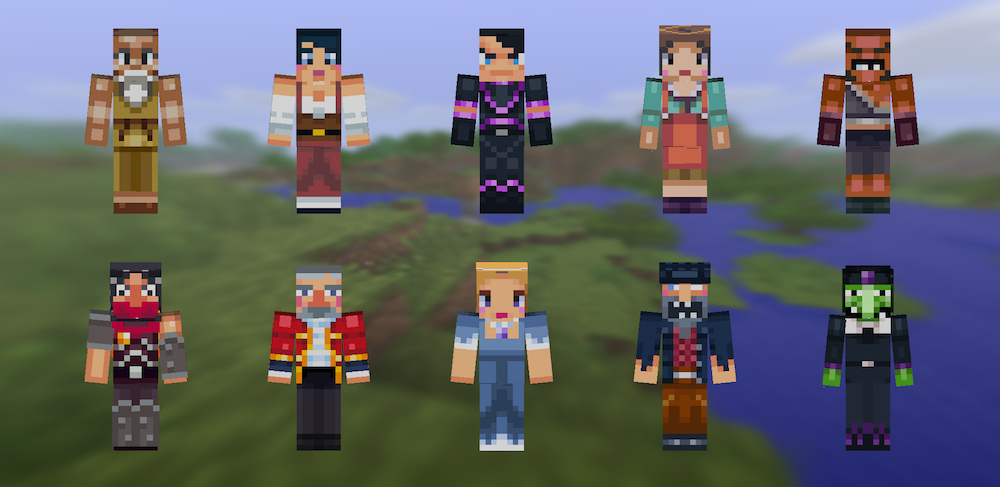 Minecraft Pocket Edition for iOS skins iPhone screenshot 003