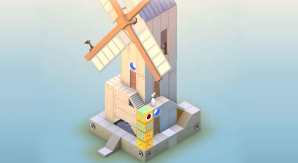 Monument Valley Idas Dream iPhone screenshot 001