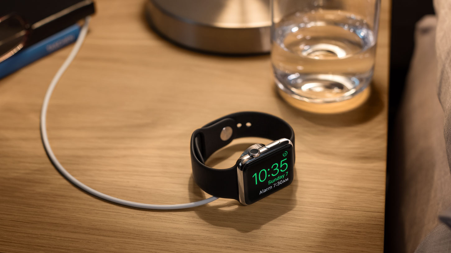 Nightstand mode Apple Watch watchOS 2