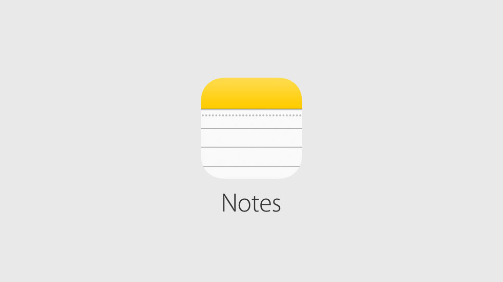 Notes iOS 9