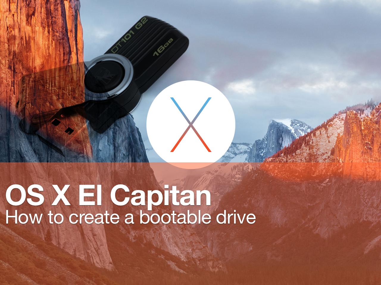 create windows 10 bootable usb el capitan