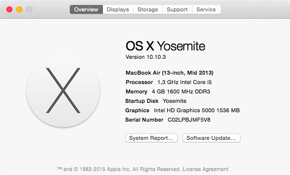 Is your Mac able to take advantage of OS X El Capitan's Metal?