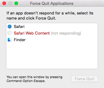 How to force quit a Mac app