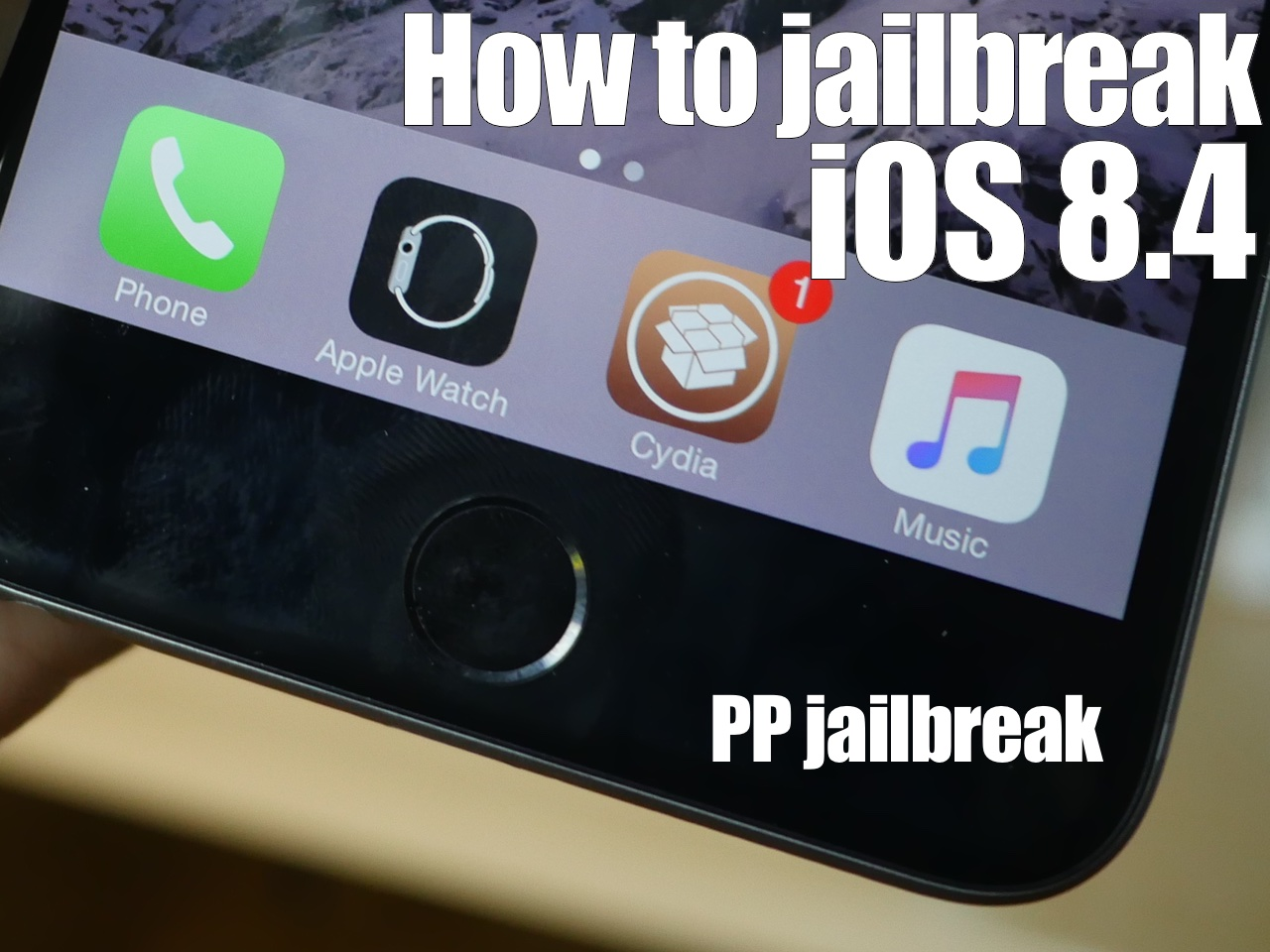 How to jailbreak iOS 8.4 with PP Jailbreak