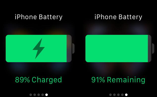 Vistazo de energía con duración de la batería